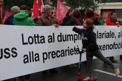 primo maggio 2016 Bellinzona